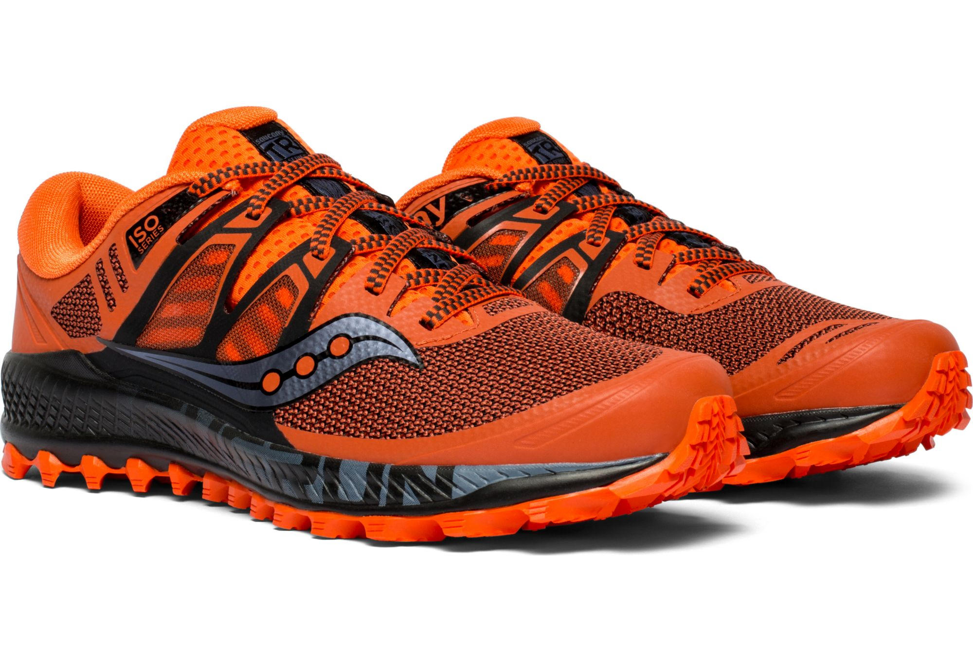purchase cheap 35654 8e960 Scarpe da corsa Saucony Peregrine ISO Arancio Nero