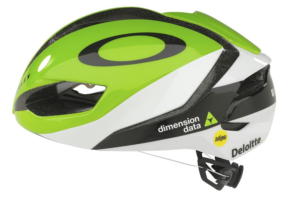 2876423713 Oakley ARO5 Dimension Data Aero Helmet Green