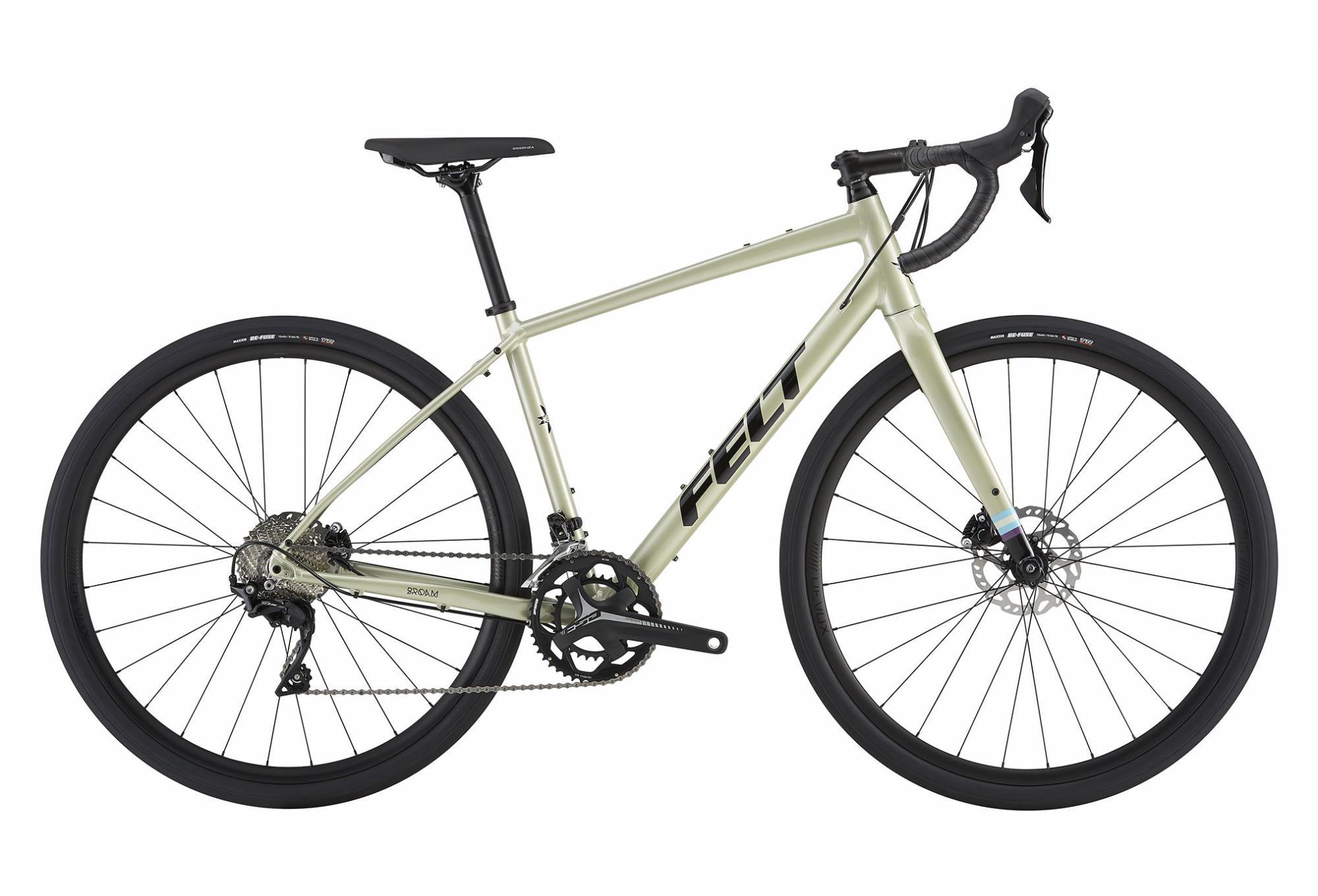 felt gravel bike broam 30 shimano 105 11s green black. Black Bedroom Furniture Sets. Home Design Ideas