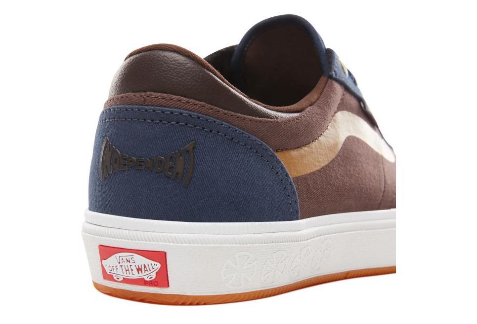 Chaussures Vans X Independent Gilbert Crockett 2 Pro Marron Bleu