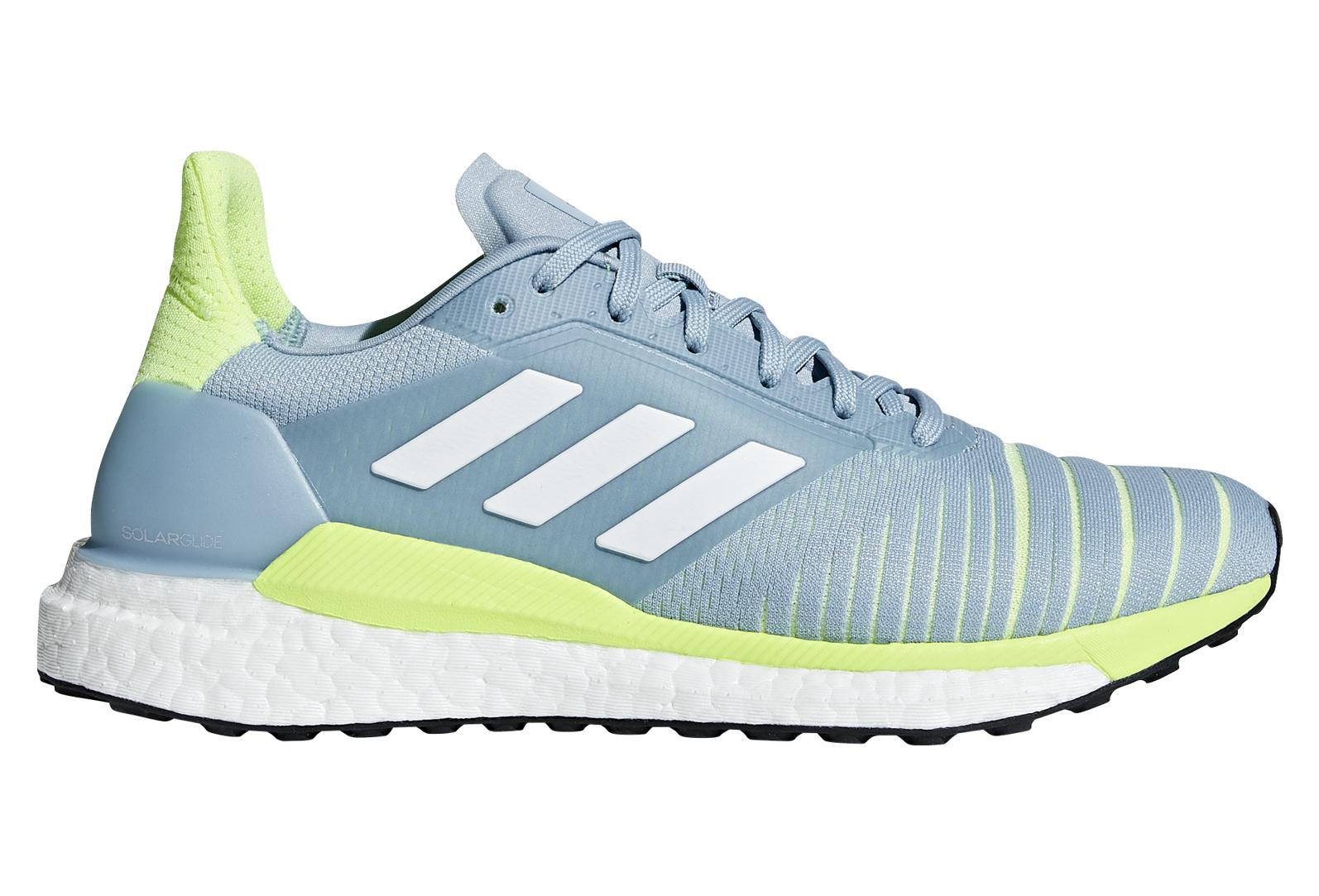 sports shoes dbcf7 f2164 Chaussures de Running Femme adidas running SOLAR GLIDE Bleu   Vert