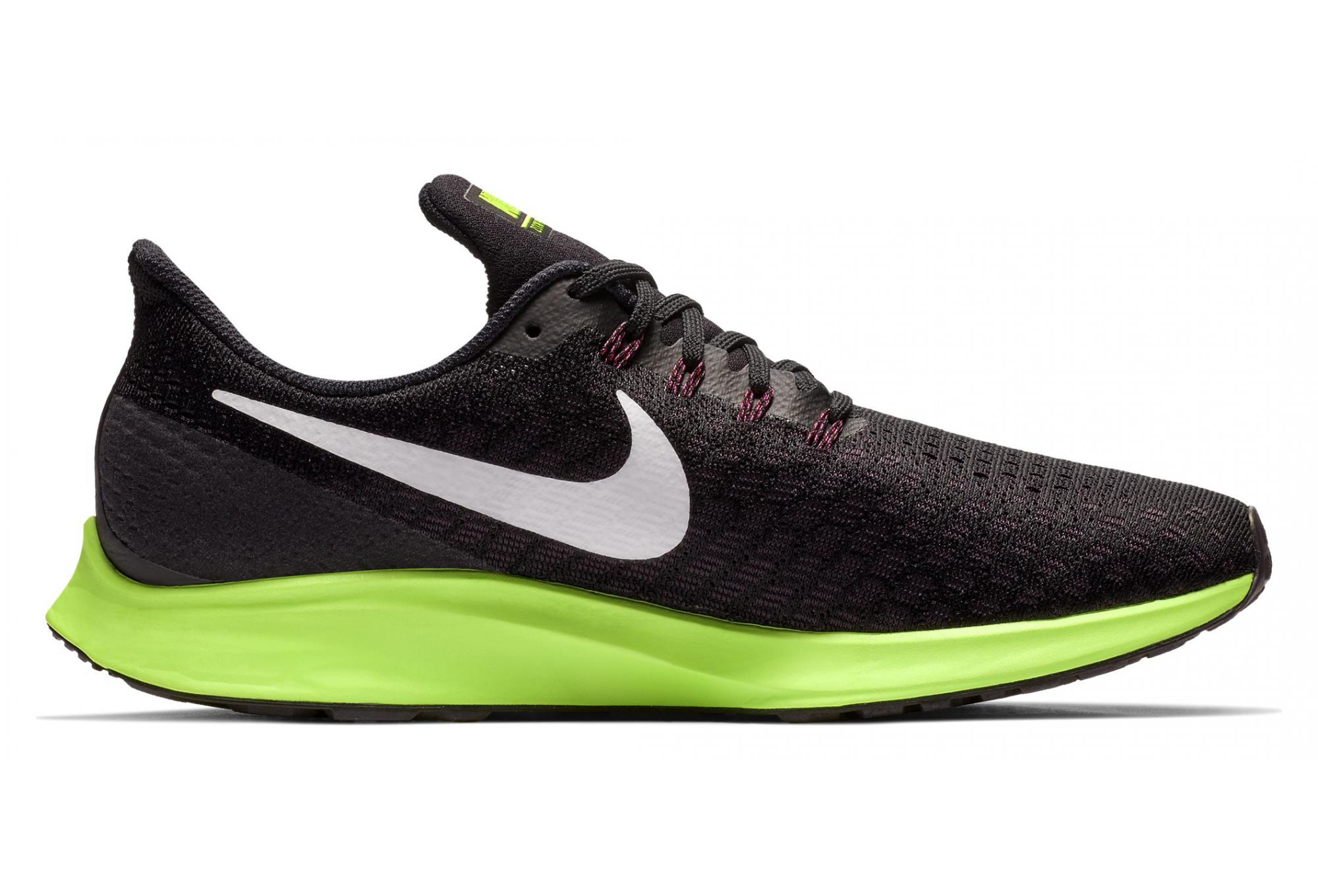 le dernier 9c950 dba1b Nike Air Zoom Pegasus Black Vert Men