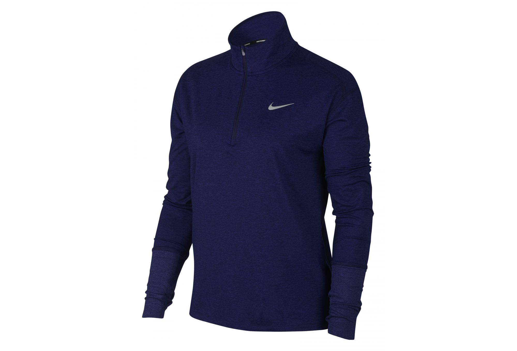 Pull Bleu Femme Nike 14 Zip Element IRFnIrg 3346c2895d9
