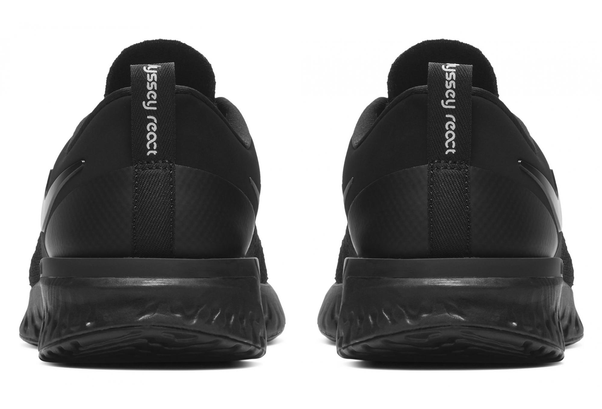 Nike Odyssey React Flyknit 2 Black White Women  10eabbe39