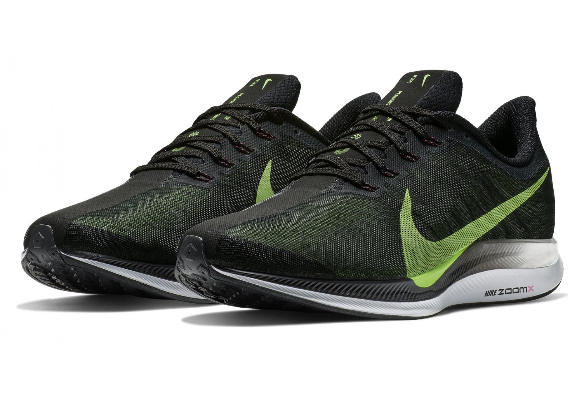 ratón Órgano digestivo Tratado  Nike Zoom Pegasus Turbo Black Green Men | Alltricks.com