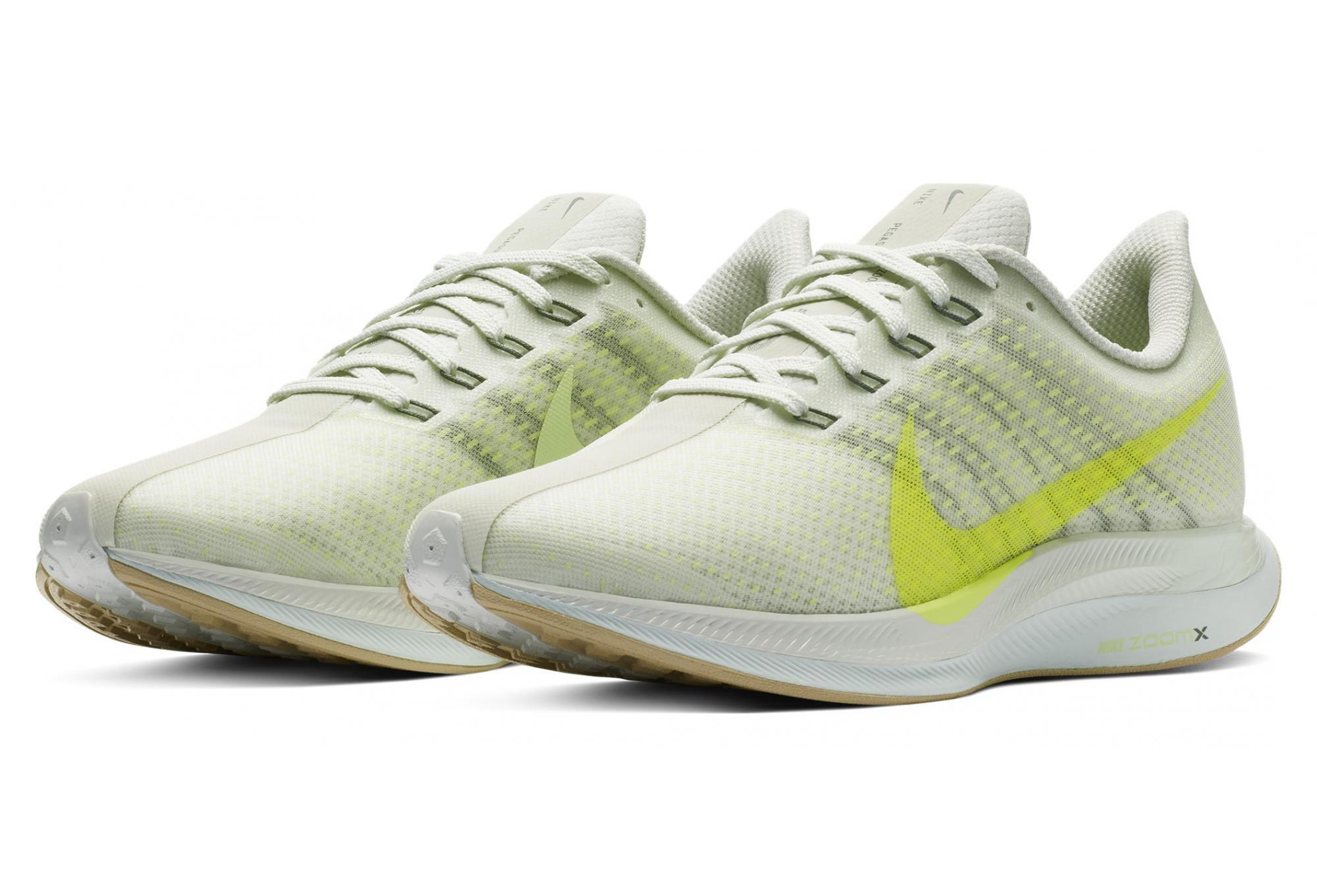 Nike Zoom Pegasus Turbo Beige Amarillo Mujer