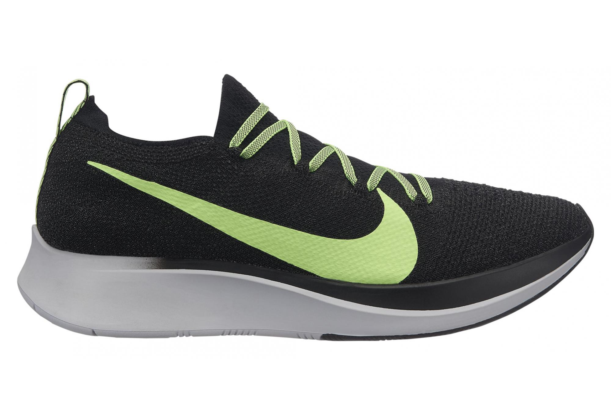 Apariencia Merecer Napier  Nike Zoom Fly Flyknit Black Green Men | Alltricks.com