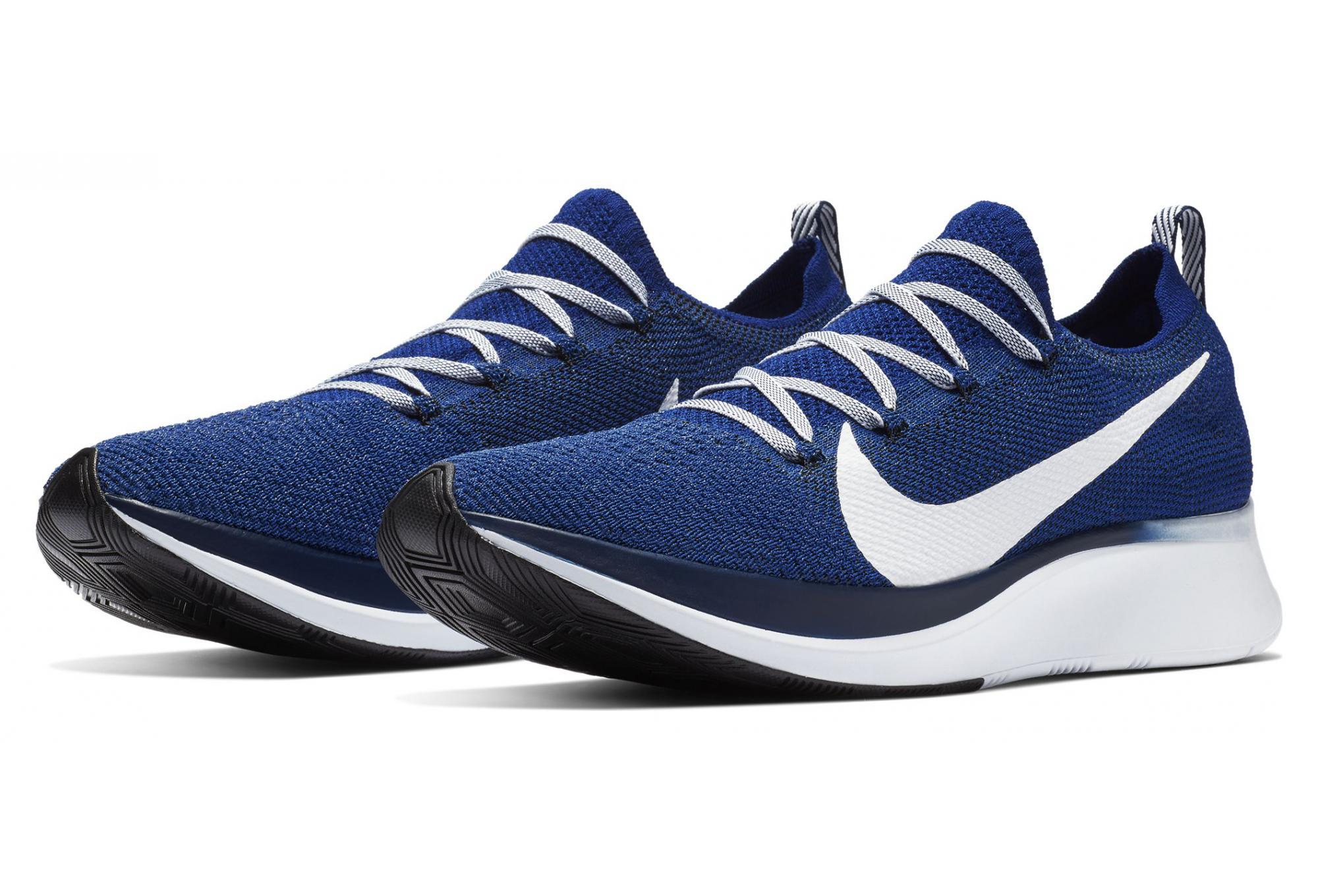 Nike Zoom Fly Flyknit Bleu Blanc Homme