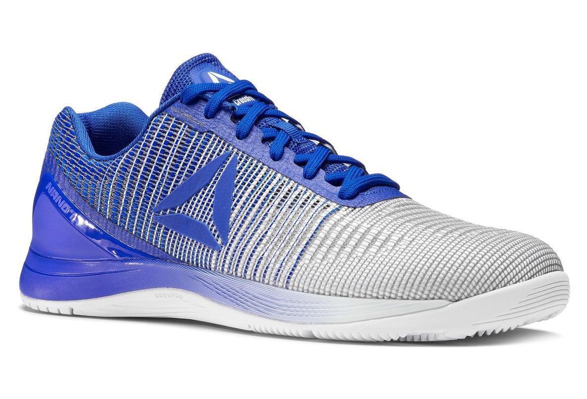 c98d9eff1858b Chaussures de Cross Training Reebok Crossfit Nano 7.0 Bleu   Blanc ...