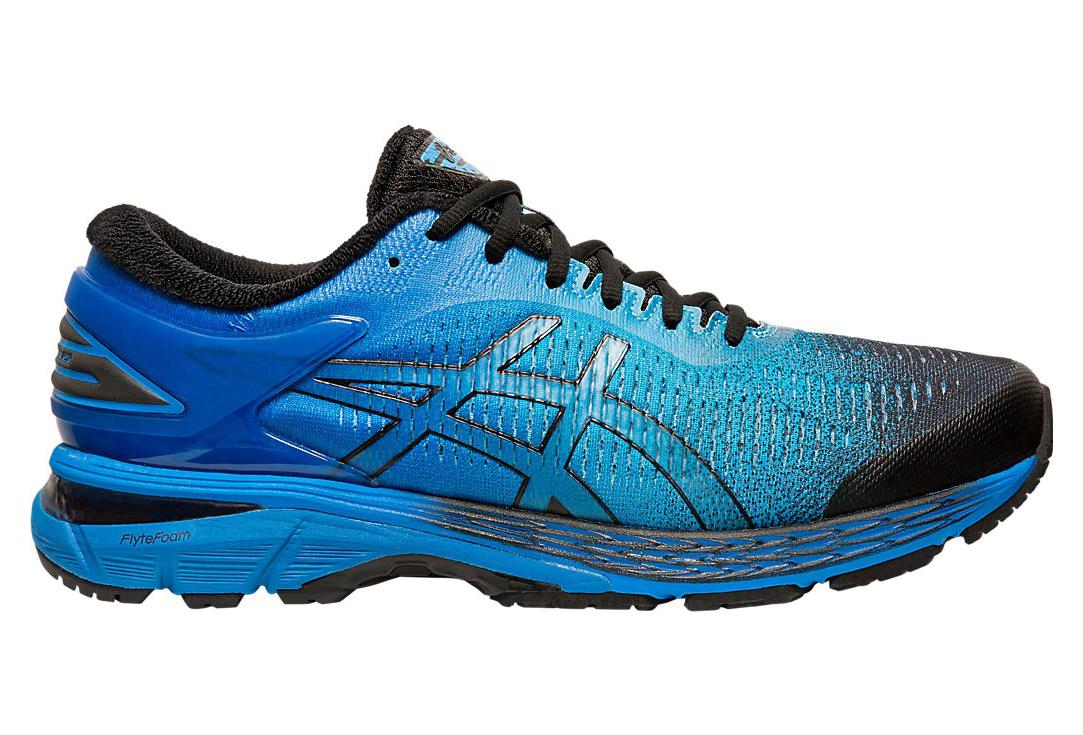Asics Gel Kayano 25 Solar Shower Black