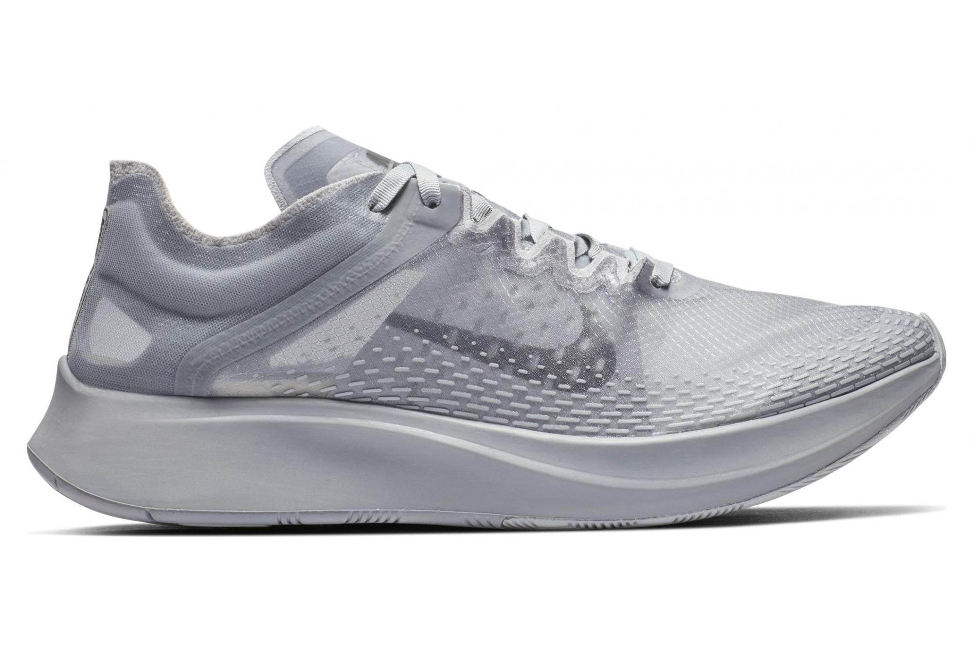 Zanahoria radio Perth  Nike Zoom Fly SP Fast Grey Men | Alltricks.com