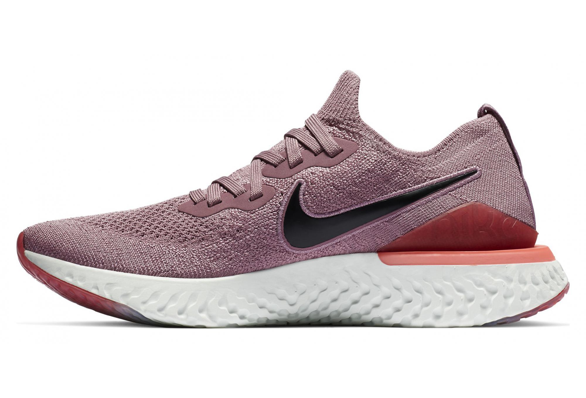 El sendero disculpa Inconsciente  Nike Epic React Flyknit 2 Pink Women   Alltricks.com