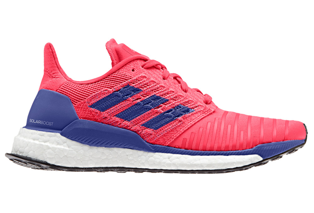 Adidas SOLAR BOOST Women's shoes Blue Red