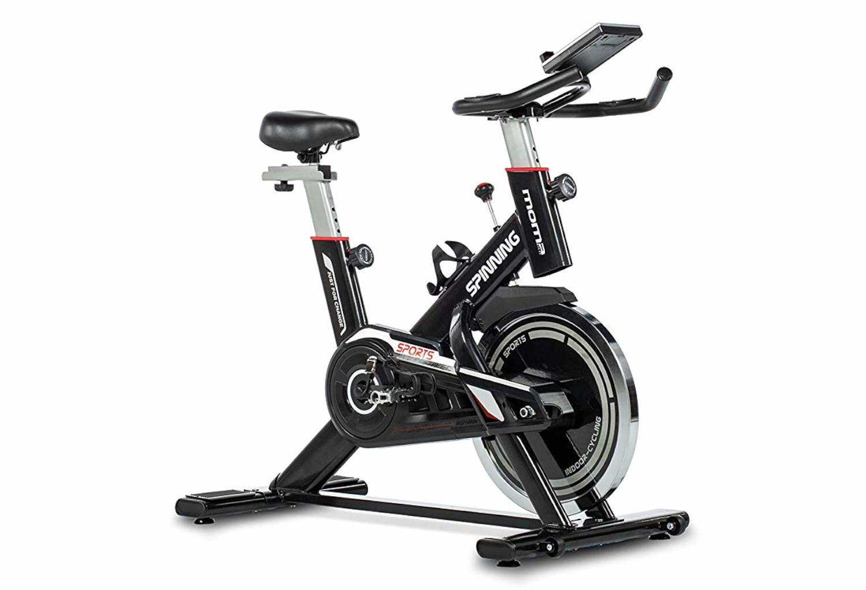Velo Appartement Pour Enfant vélo d'appartement moma bikes spinning roue 24kg, capteur cardiaque