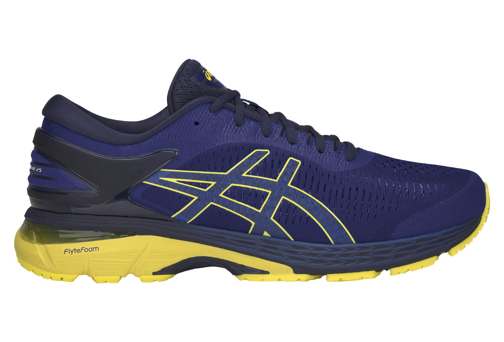 the best attitude e39f3 4ffc4 Scarpe Asics Run Gel Kayano 25 Blu Giallo