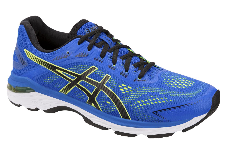 Asics Shoes Run GT 2000 7 Blue Yellow