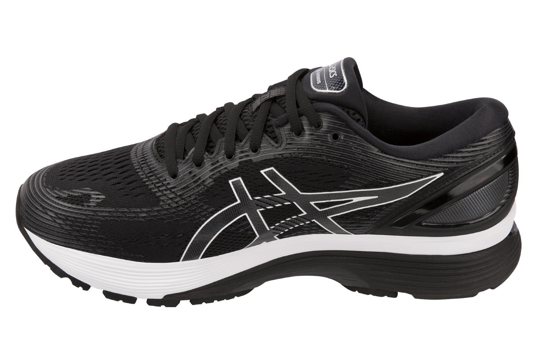 Asics Schuhe Run Gel Nimbus 21 Black White
