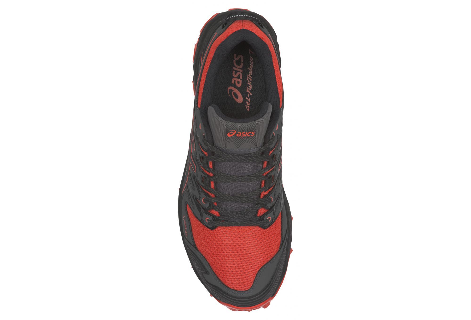 wholesale dealer 35558 922ab Asics Schuhe Trail Gel FujiTrabuco 7 GTX Schwarz Rot