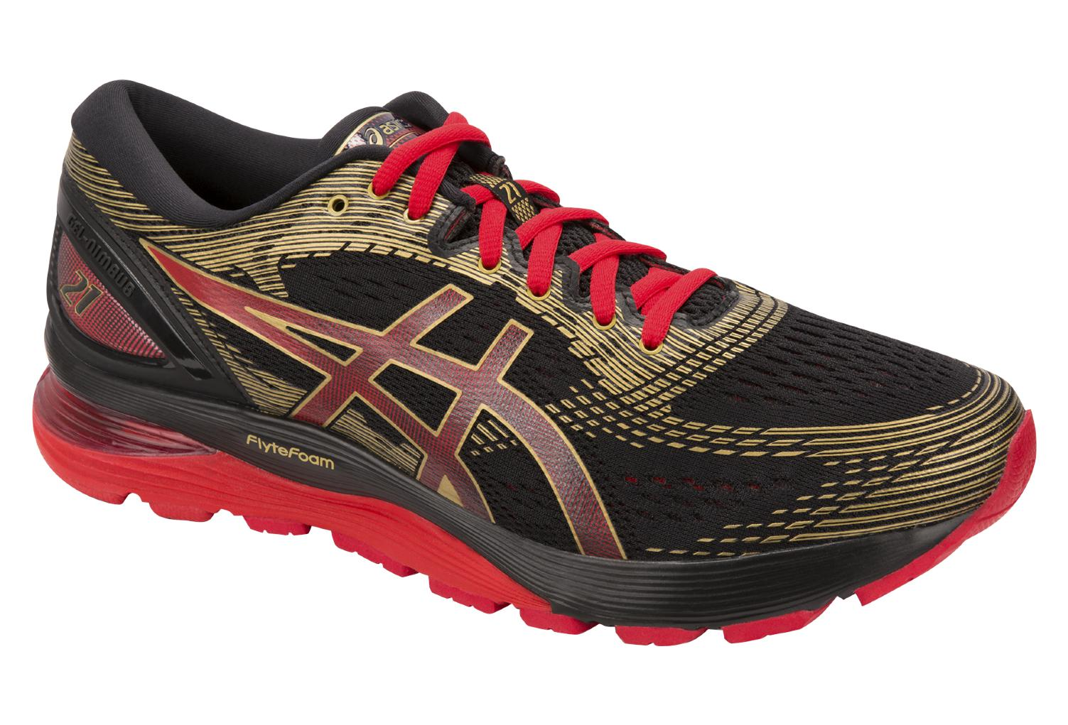 2f5ba4041ce Asics Shoes Run Gel Nimbus 21 MUGEN Black Red