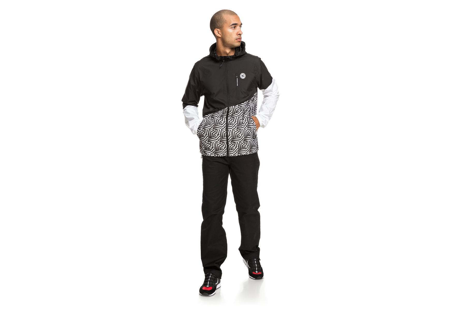 DC Shoes Jacket Windproof Dazzle Dagup Black  14b009c2c7a