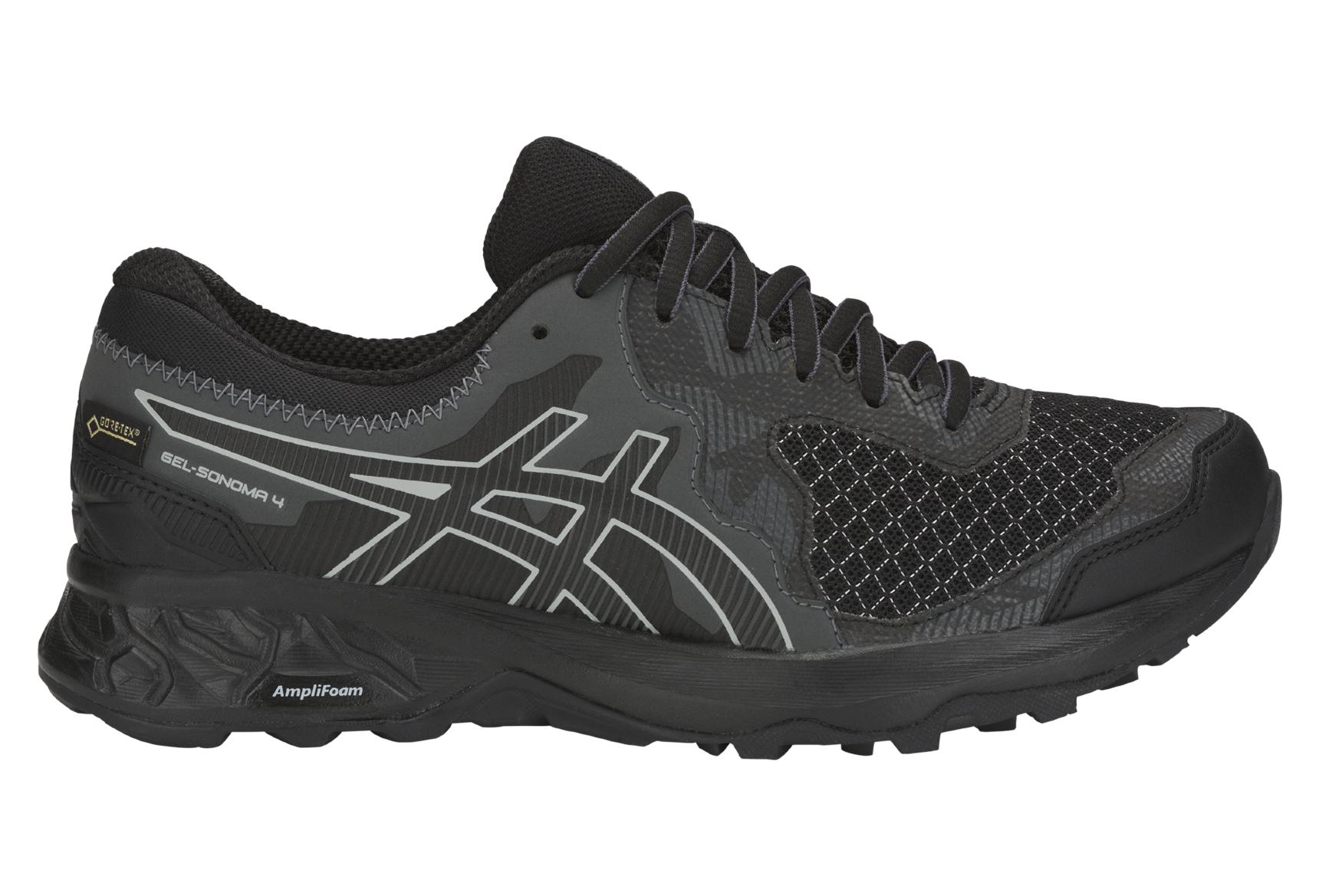 Asics Scarpe Trail Gel Sonoma 4 GTX Black Women