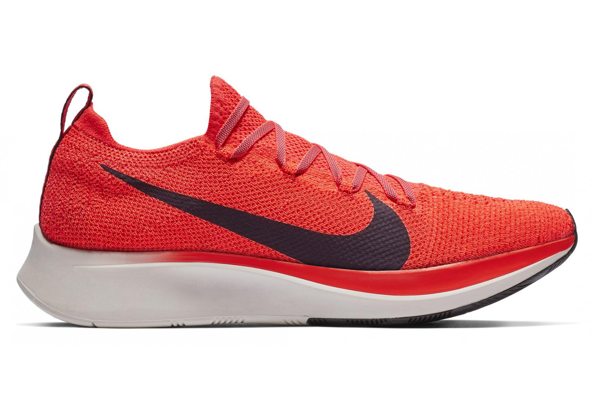 5e539b0bca1df Nike Zoom Fly Flyknit Red Black Men