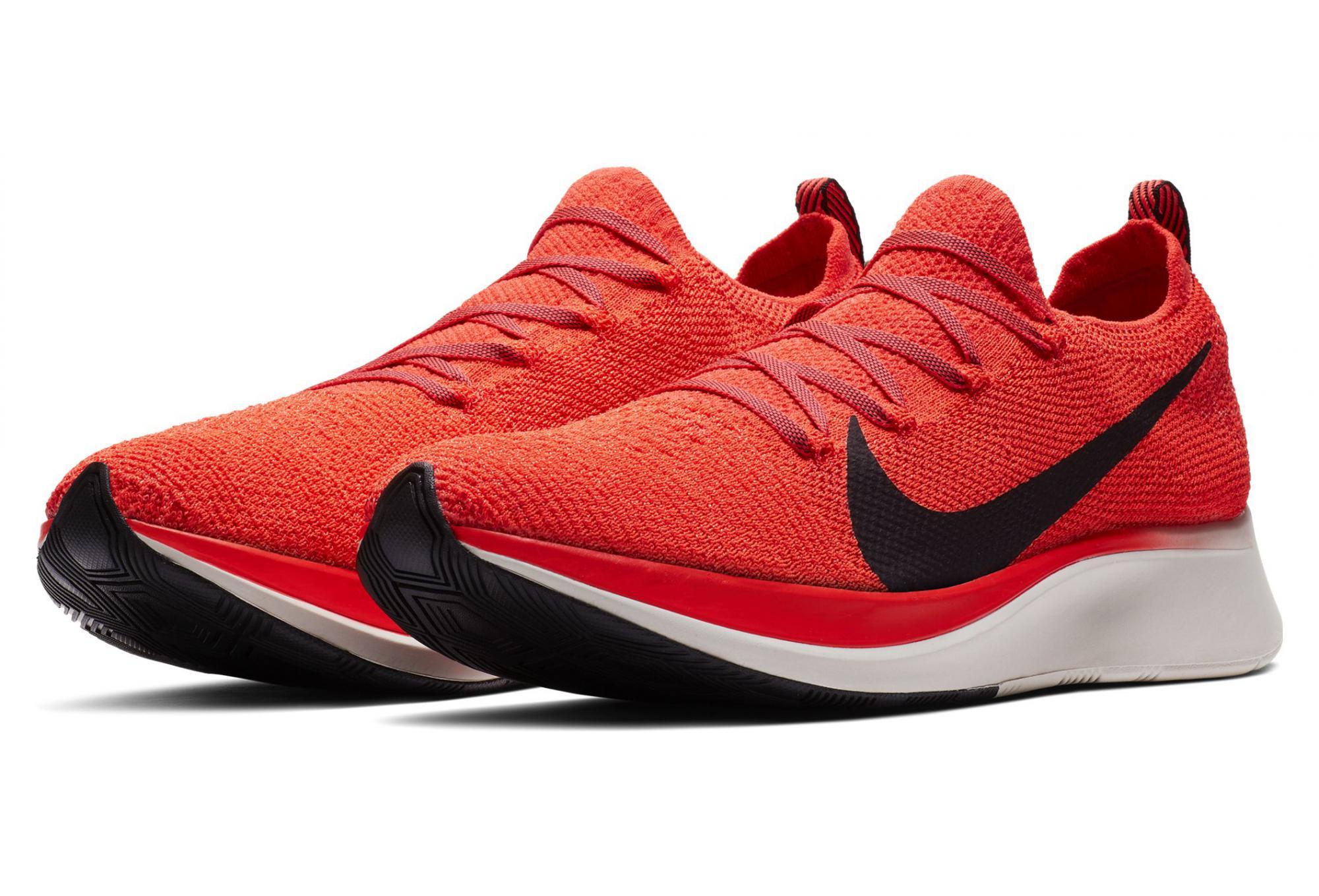 b537af230e2 Nike Zoom Fly Flyknit Red Black Men