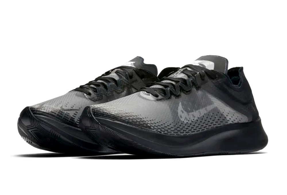Nike Zoom Fly SP Fast Negro Blanco Hombres