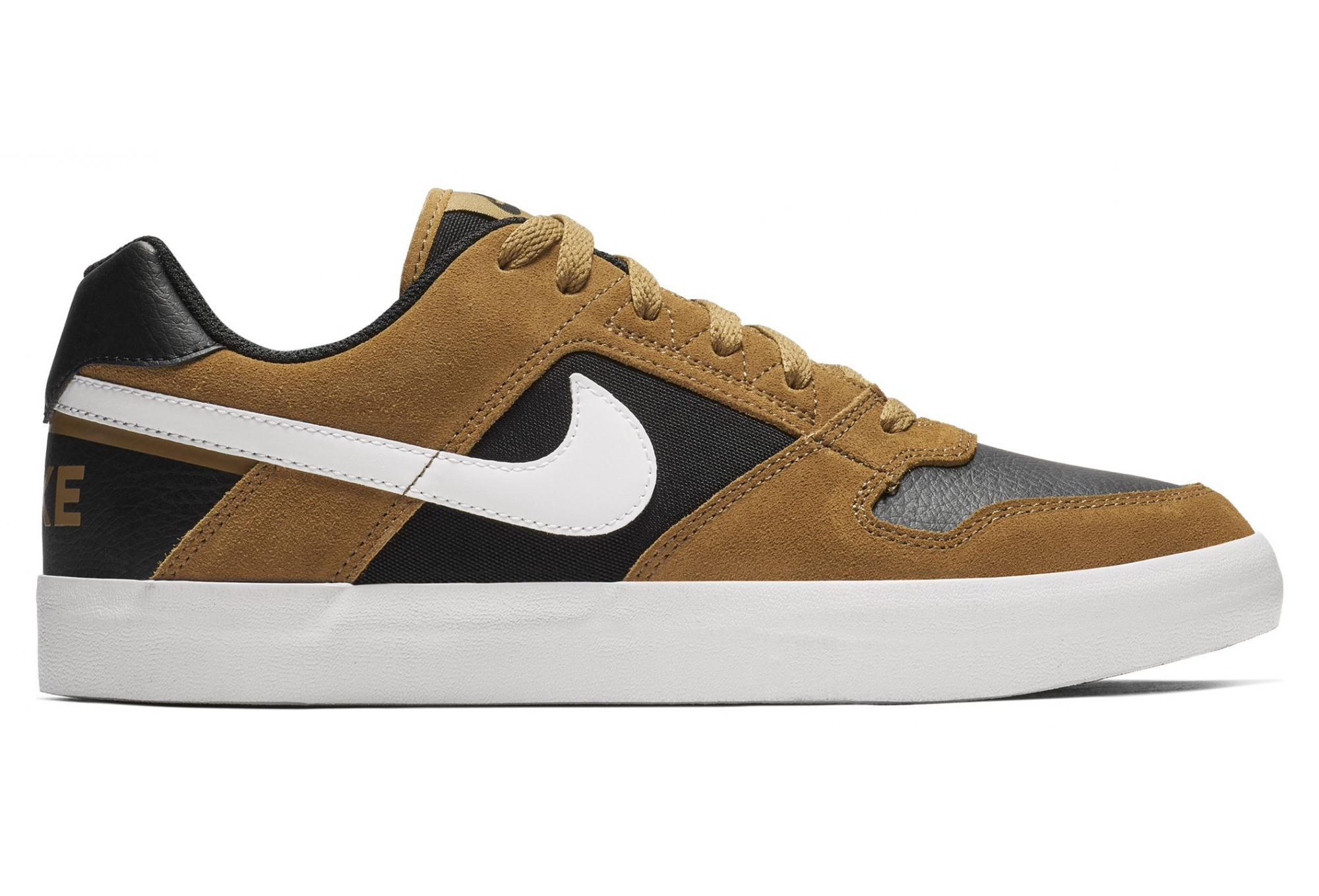 Nike SB Delta Force Vulc Shoe Brown Black | Alltricks.com