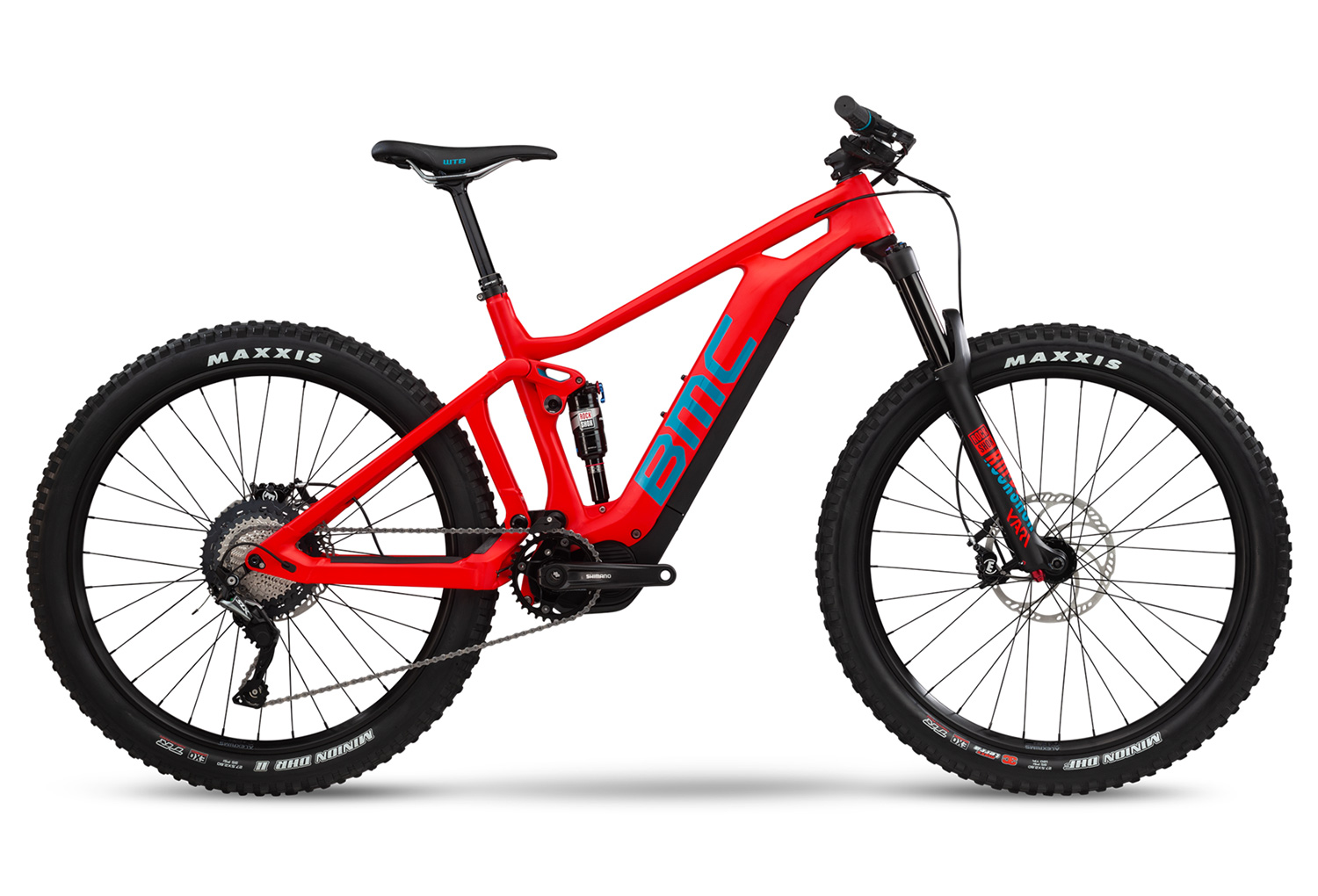 BMC Trailfox AMP TWO Electric Full Suspension MTB Shimano SLX 11S ...
