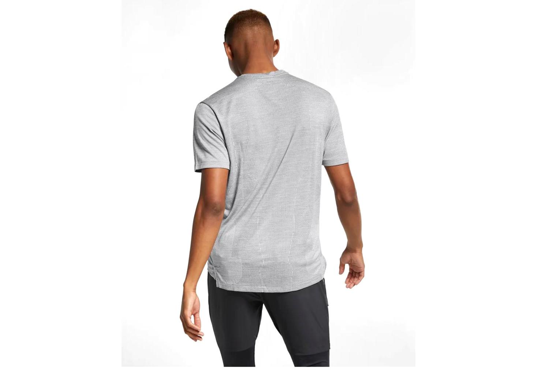 b0d586a9 Nike Short Sleeves Jersey TechKnit Cool Ultra Grey Men   Alltricks.com