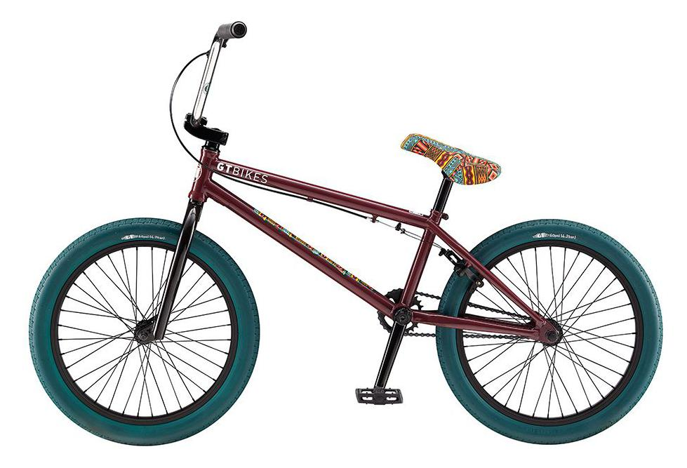 GT BMX Race Performer 20 75'' Trans Wine Red 2019