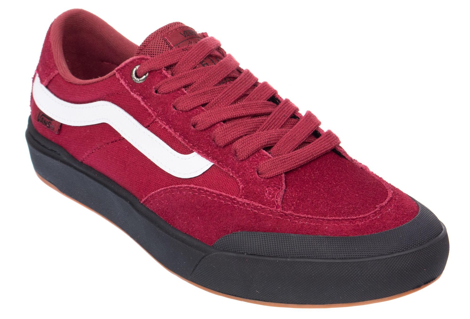Shoes Pro Berle Rumba Vans Red EH9I2D