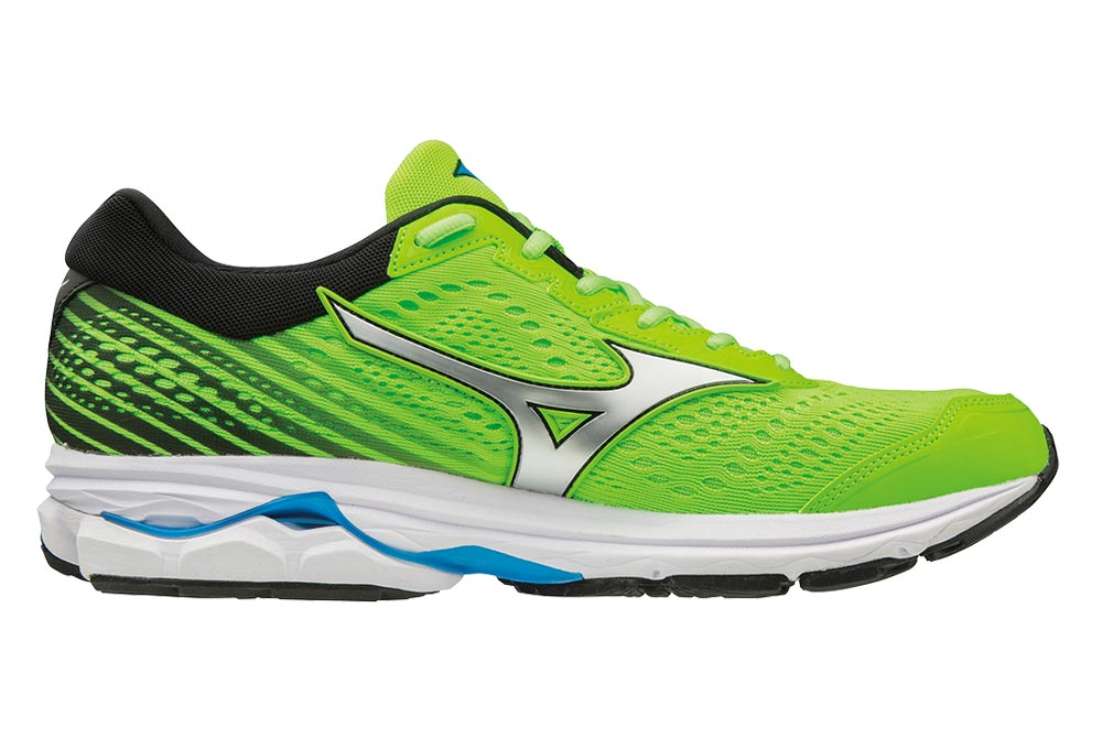 d48118d5143 Mizuno Wave Rider 22 Green Blue Men | Alltricks.es