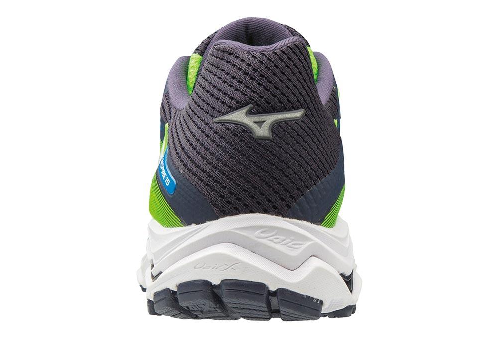 separation shoes e6f66 68815 Chaussures de Running Mizuno Wave Inspire 15 Vert   Noir