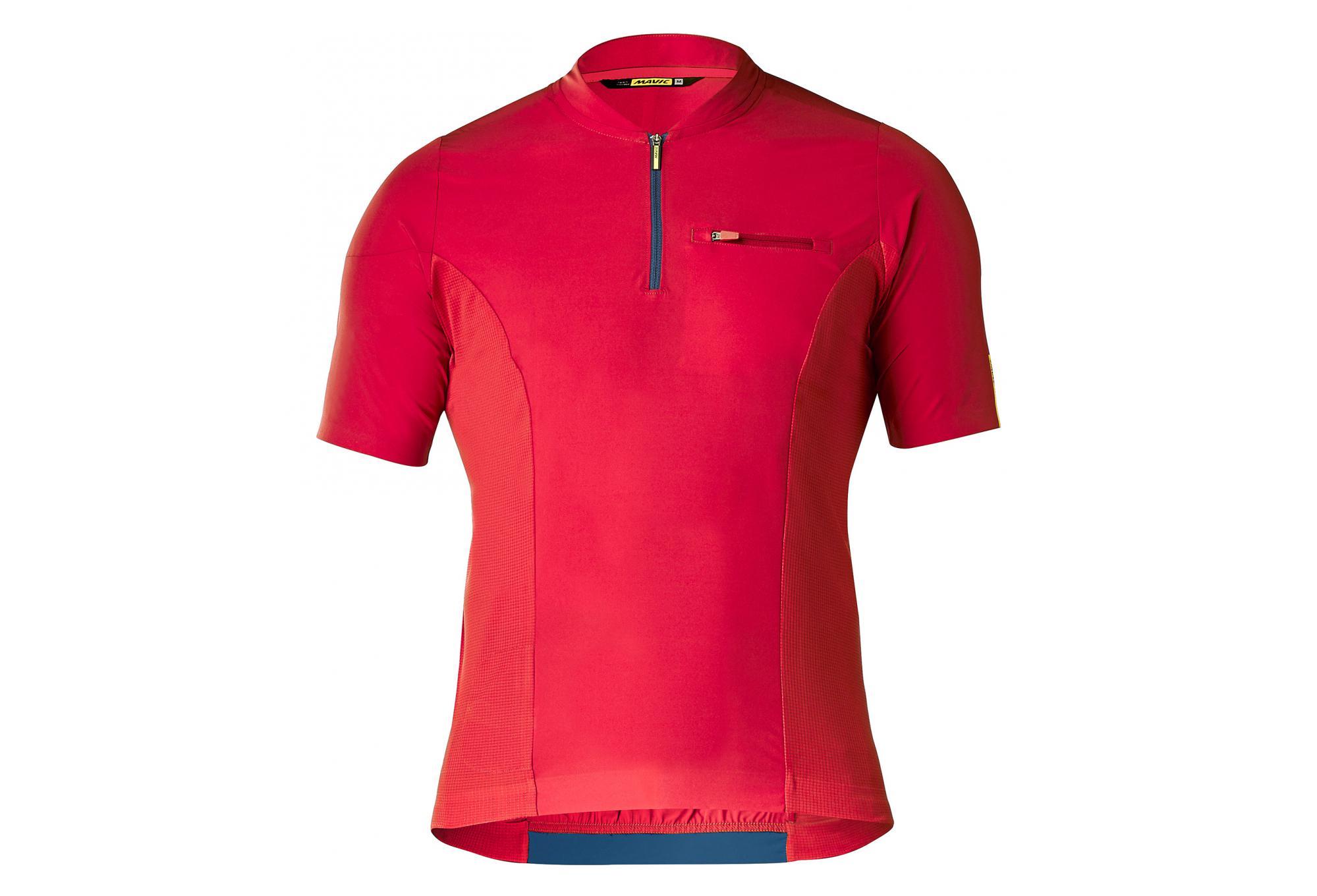 MAVIC XA Pro Short Sleeves Jersey Haute Red  66370e043