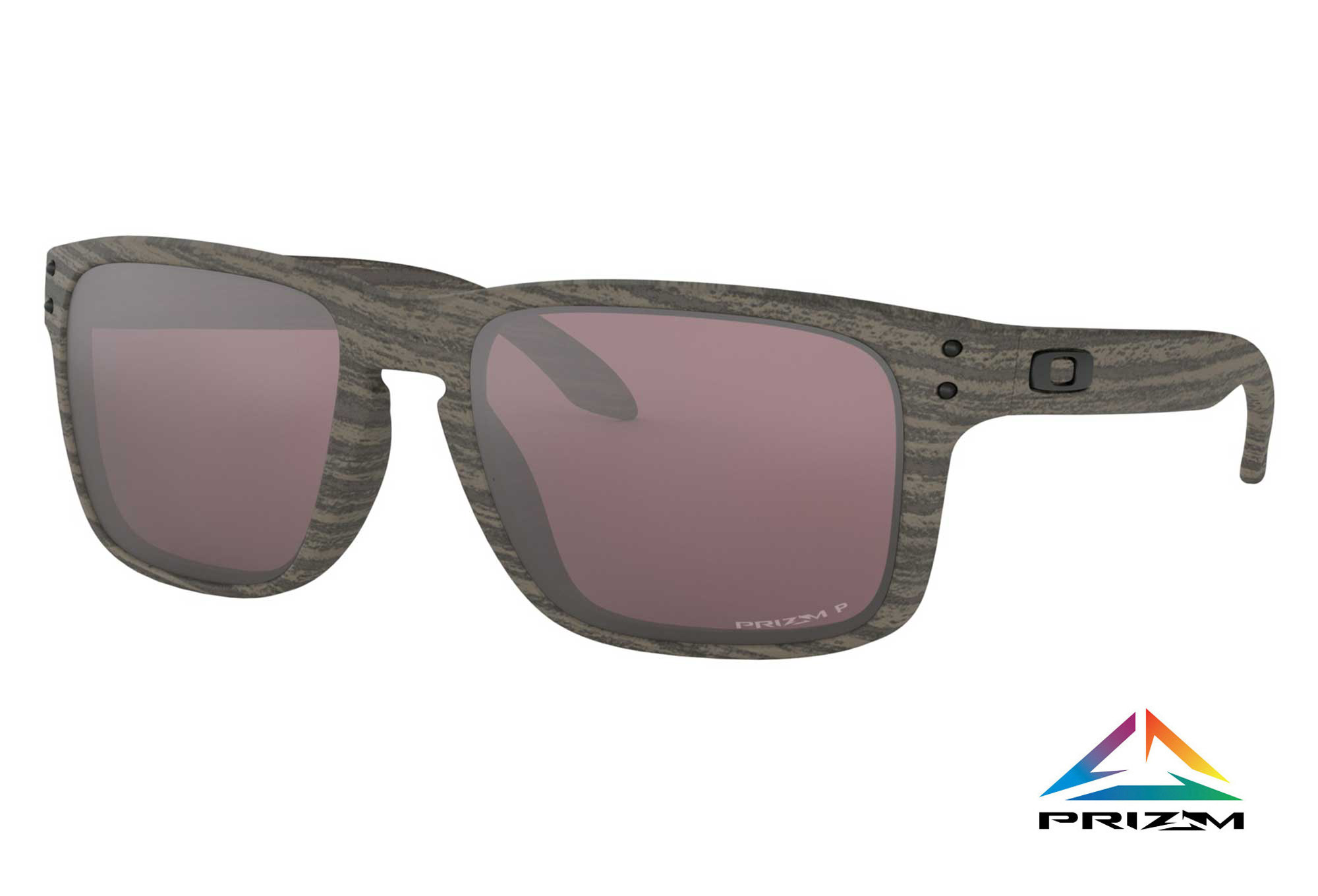 3cc331a49ebf6 Lunettes Oakley Holbrook Woodgrain Collection - Prizm Daily Polarized  OO9102-B7