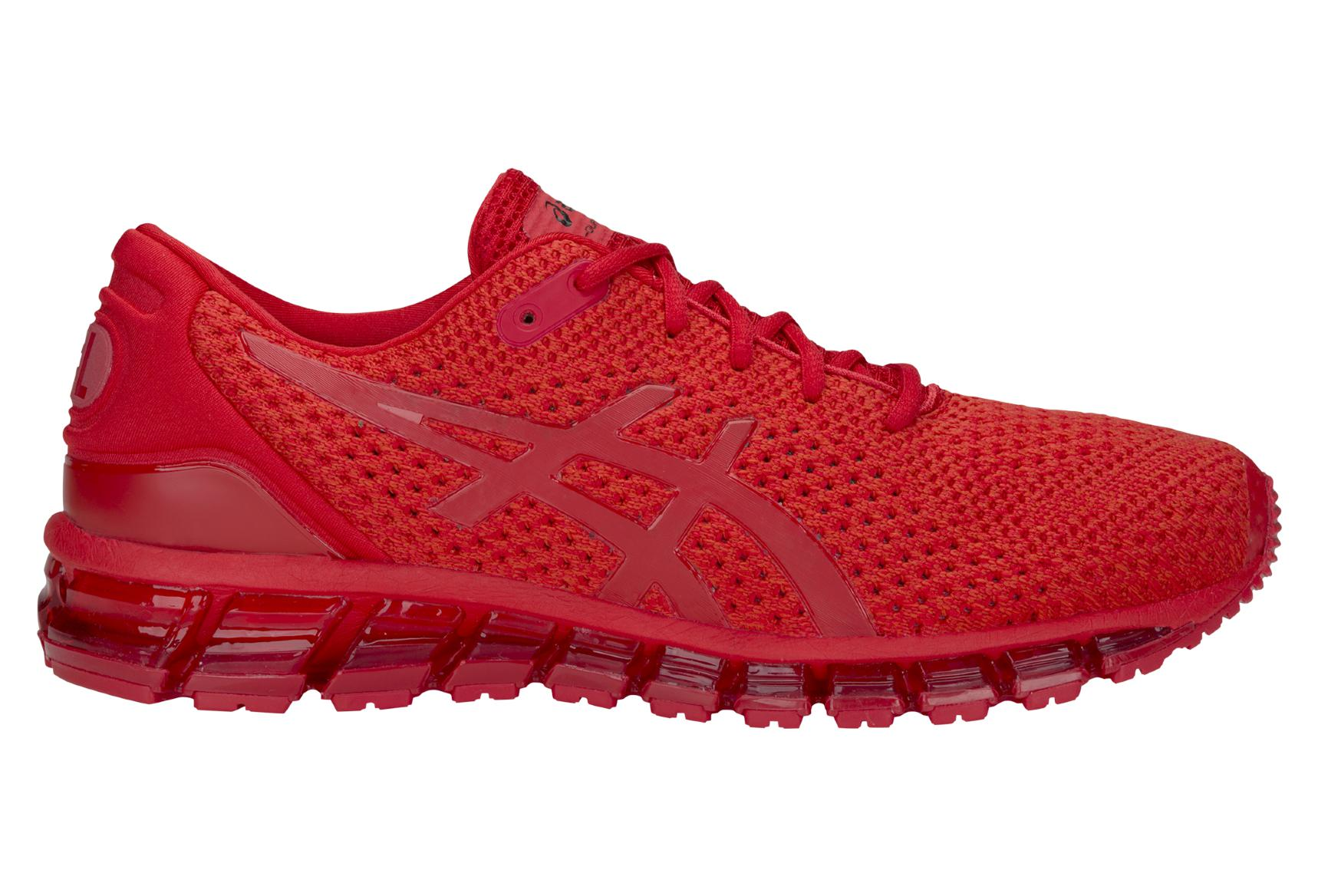 quality design 8114a 4d19b Asics Shoes Run Gel Quantum 360 Knit 2 Red Men