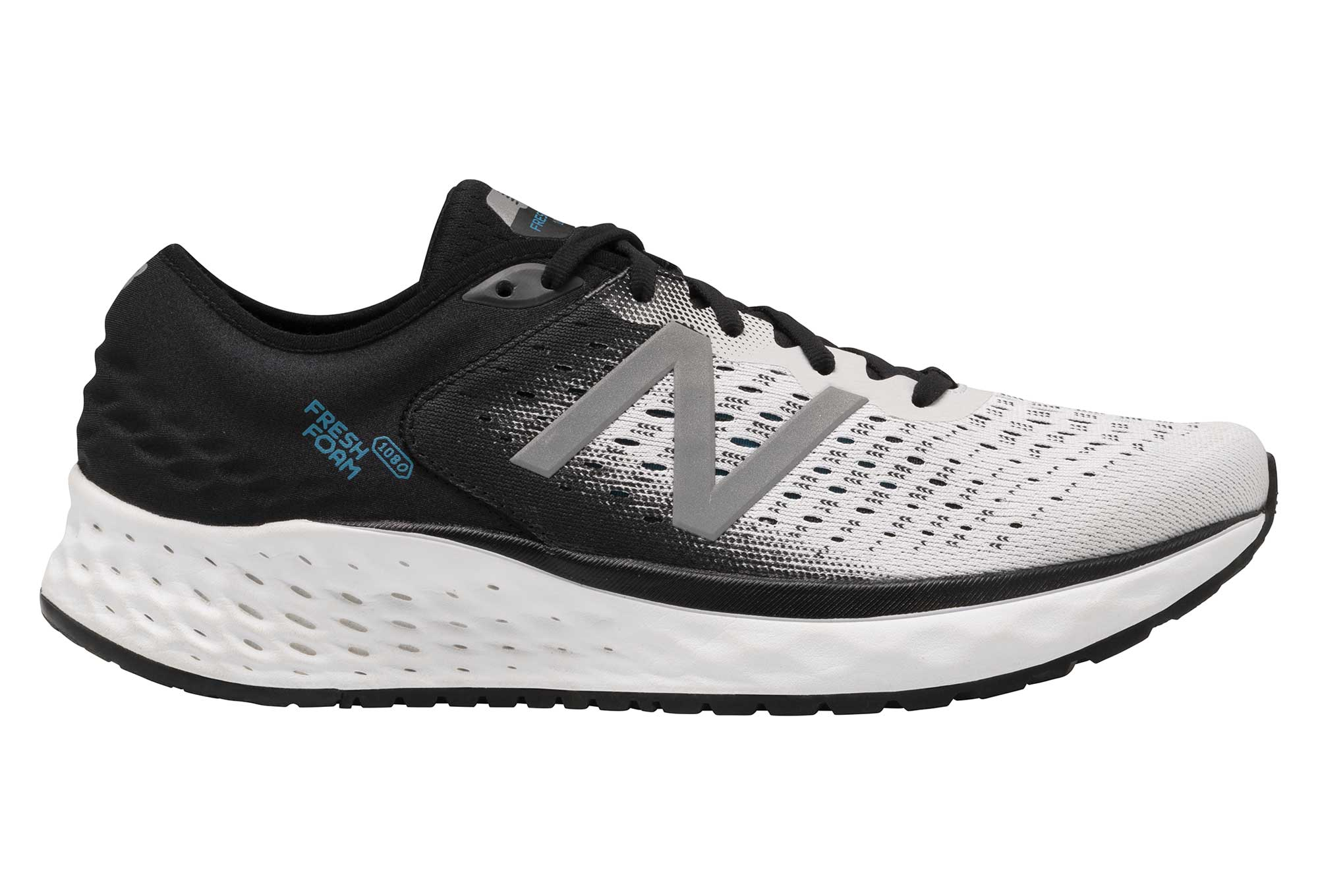 New Balance Fresh Foam 1080 V9 Blanco Negro Hombres