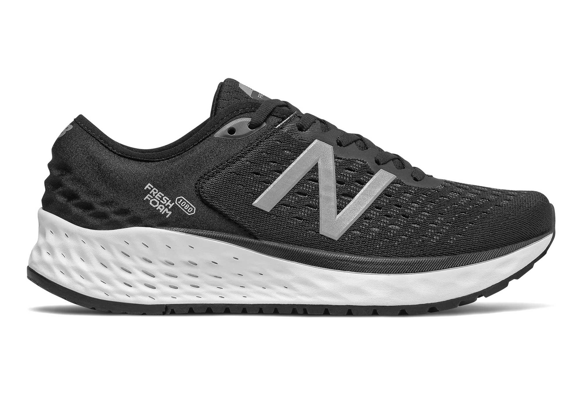 280a851770117 Zapatillas New Balance Fresh Foam 1080 V9 para Mujer Negro   Blanco