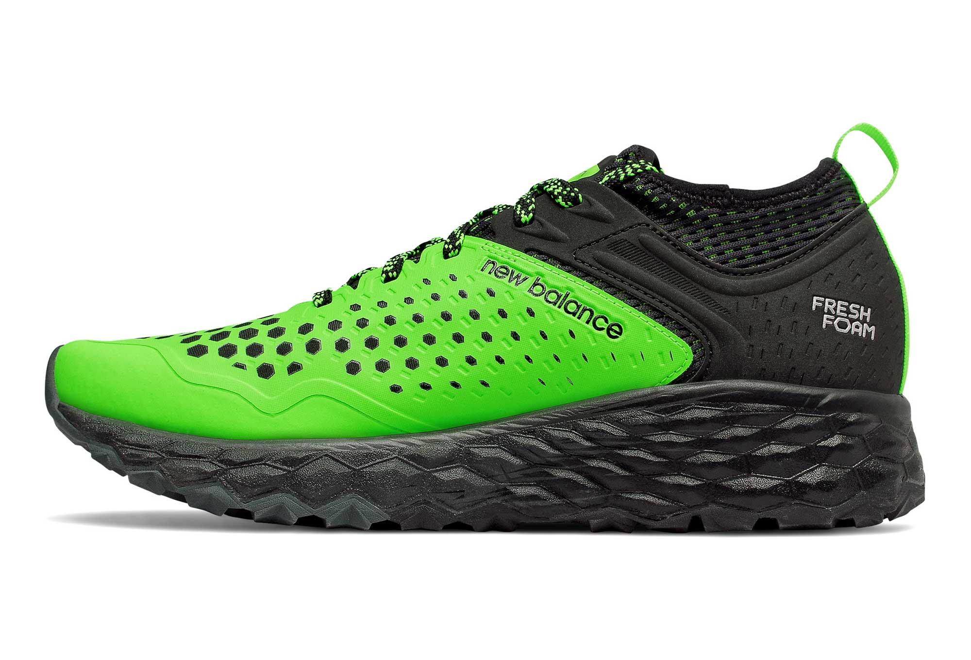 online store choose best fine craftsmanship New Balance Fresh Foam Hierro V4 Green Black Men