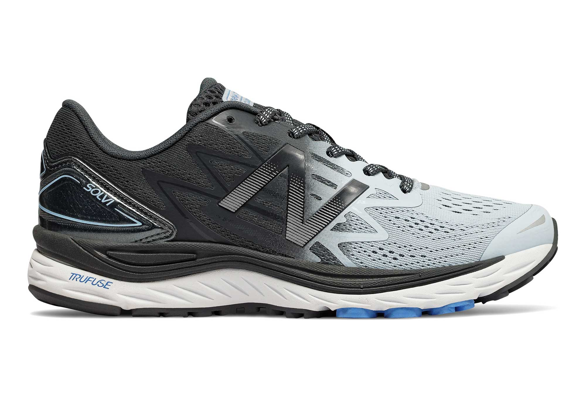 new balance mujer negras y azul