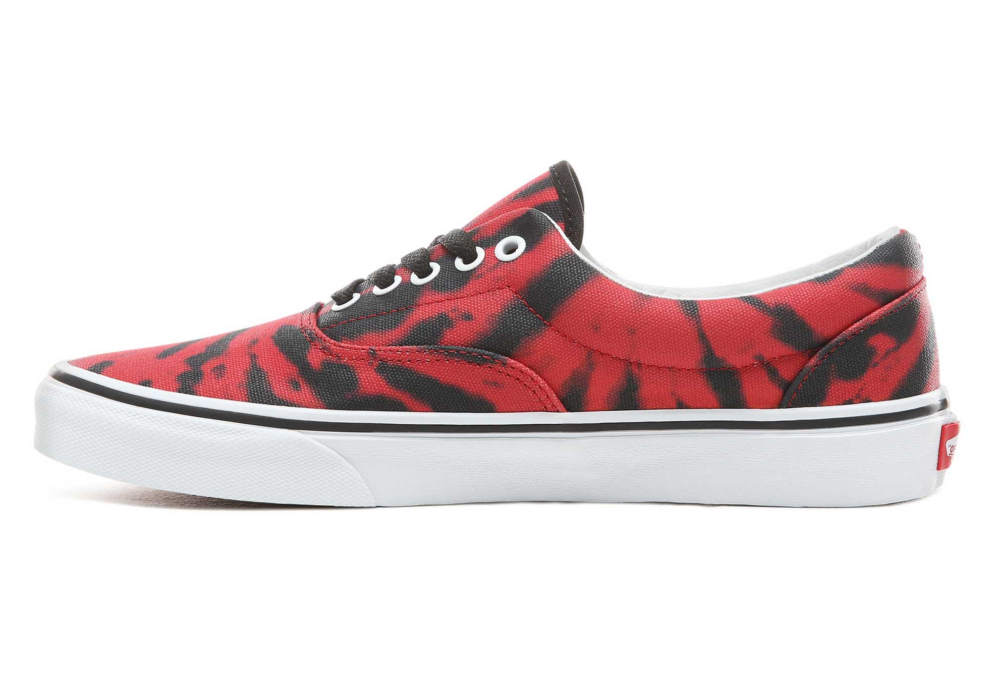 Vans Era Tie Dye Tango Shoes Red