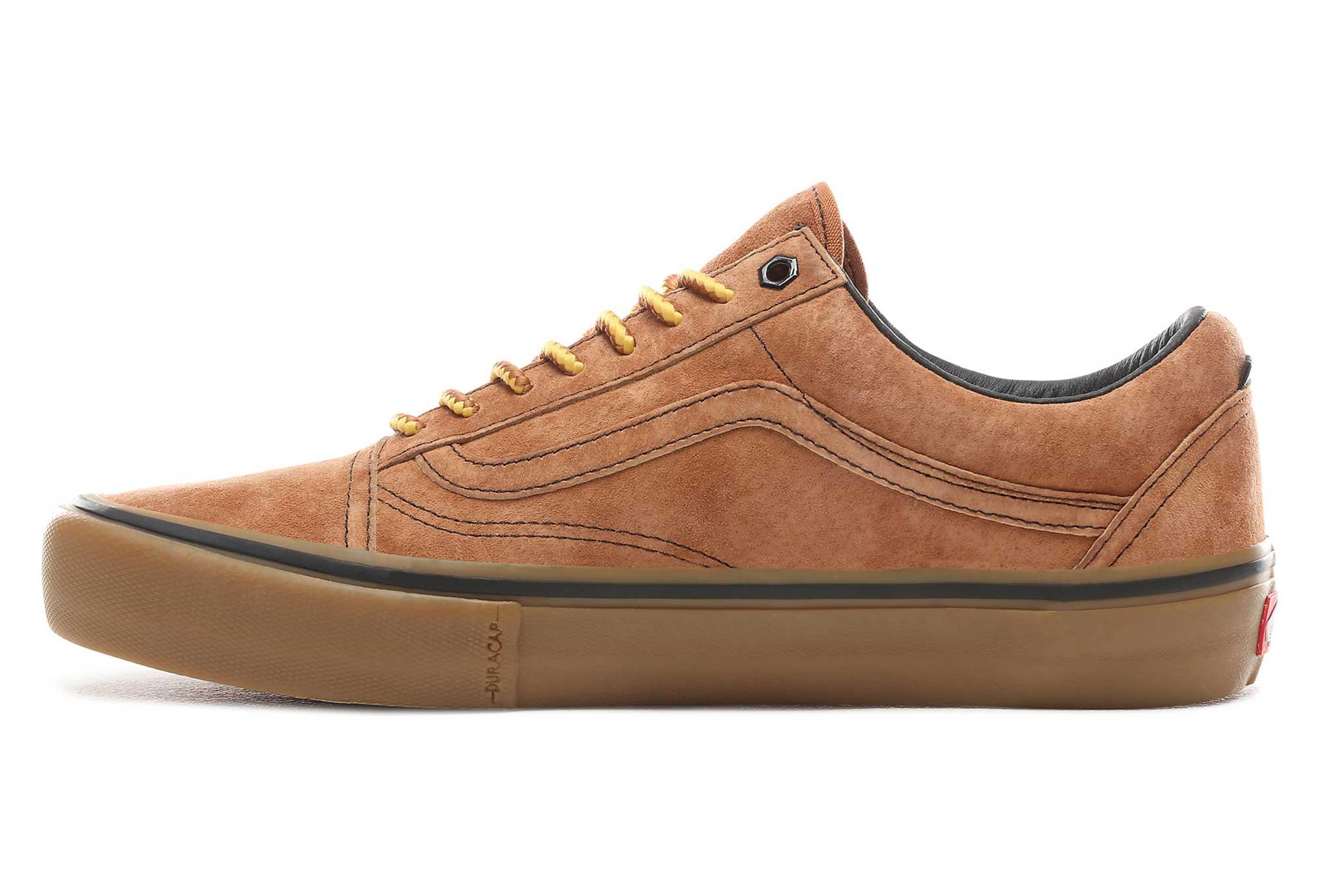 Chaussures Vans Old Skool Pro Anti Hero Marron