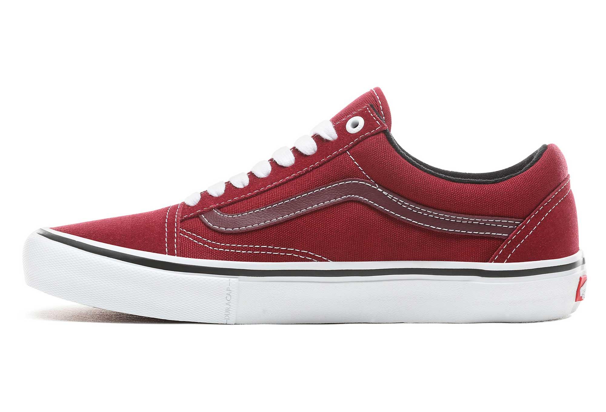 vans grigio rosso