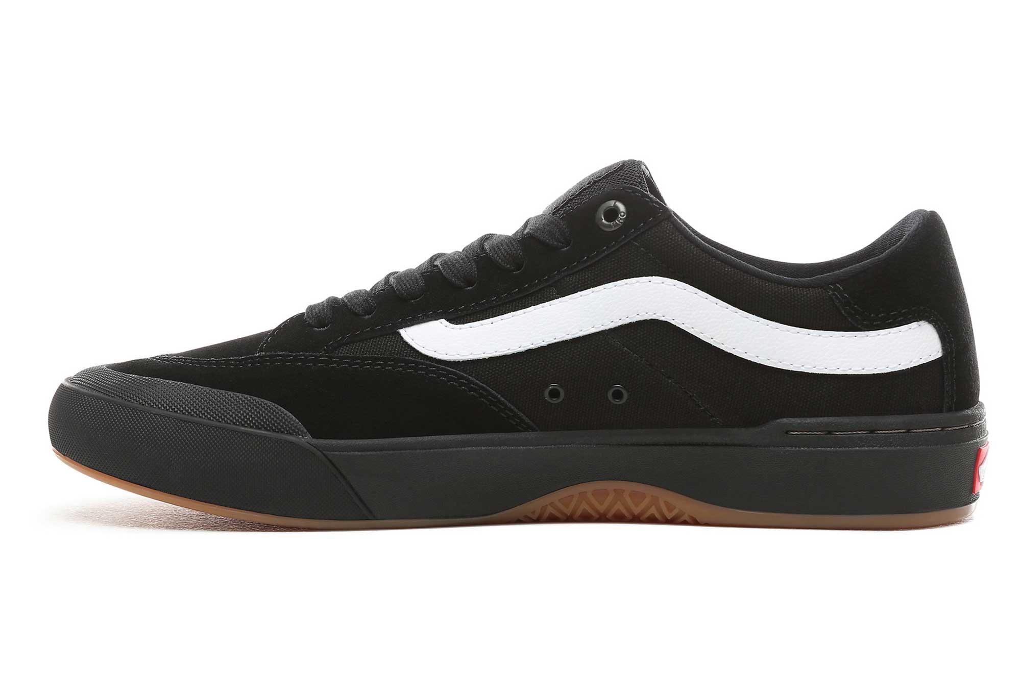 Vans Shoes Berle Pro Black White