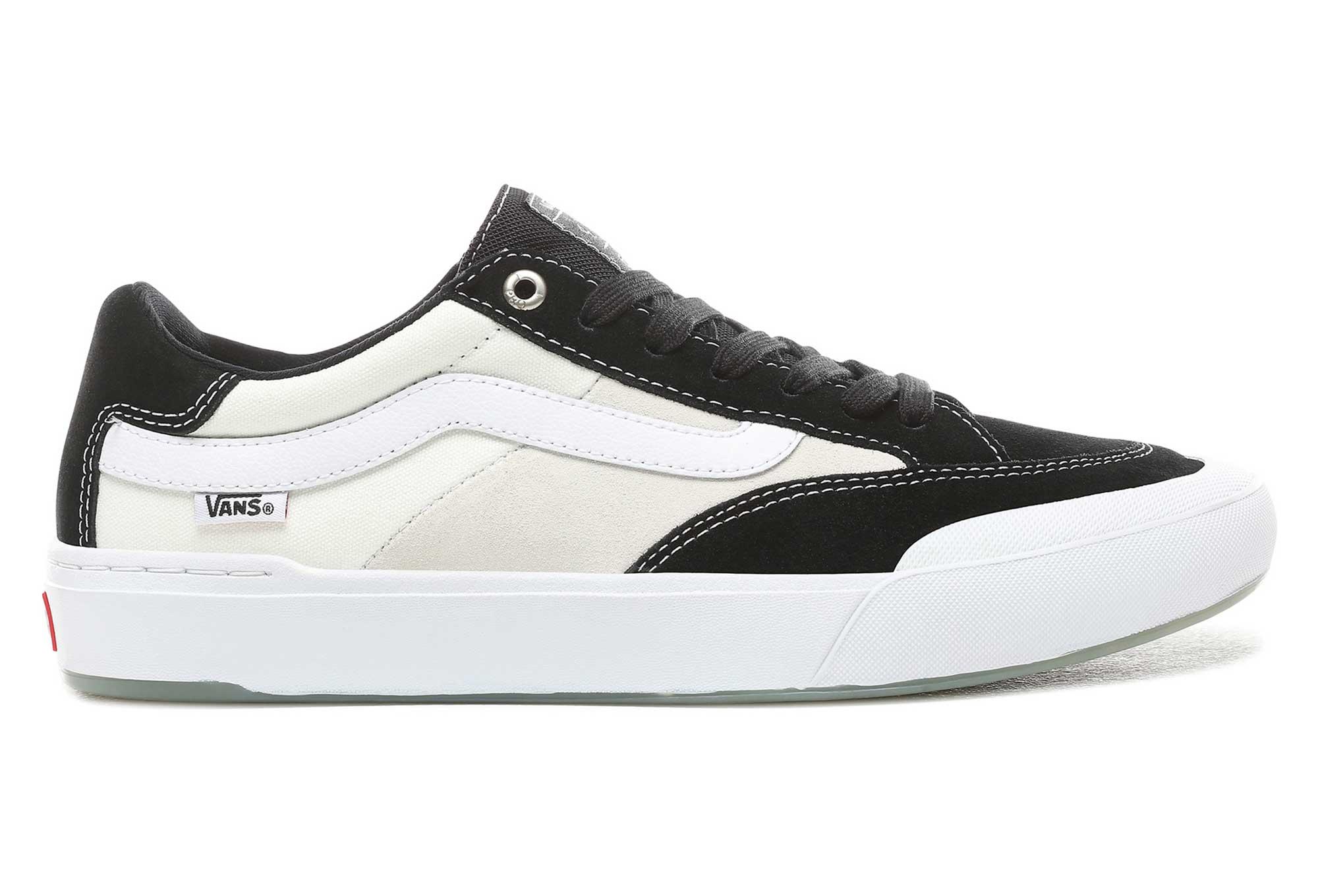 Vans Berle Pro Shoes Black White