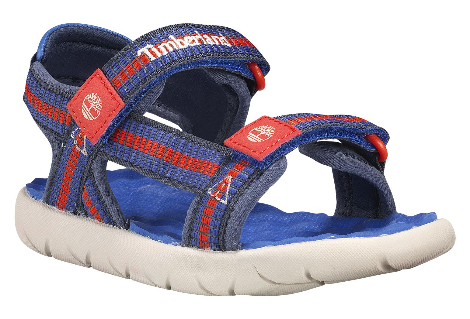 buy sale latest collection popular design Timberland Youth Sandals Perkins Row Blue / Red