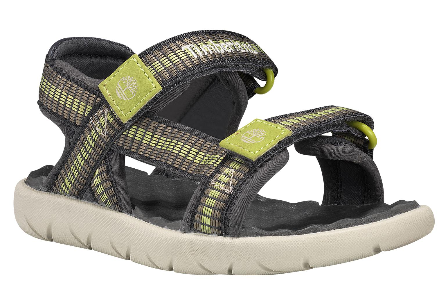 lowest price outlet online classic Timberland Youth Sandals Perkins Row Black / Green