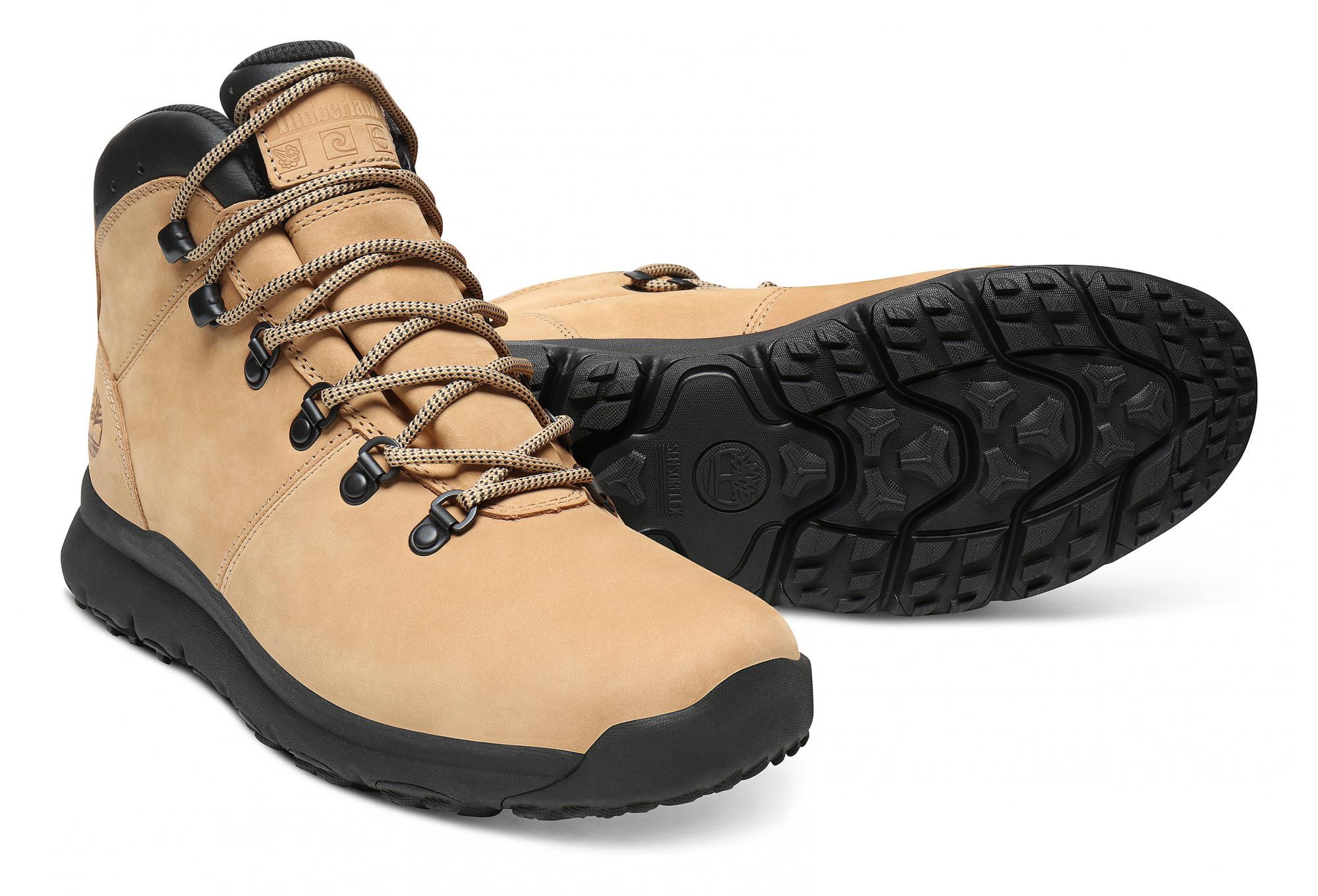 uk availability 4d960 04d33 Timberland Schuhe World Hiker Mid Beige